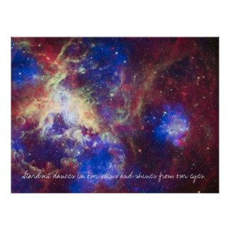 Inspirational Poster Hubble Image A10