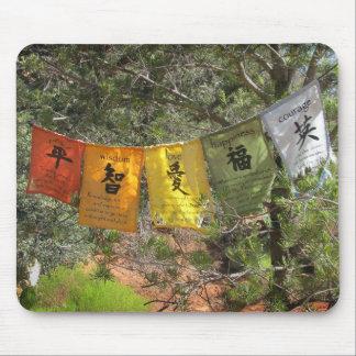 Inspirational Prayer Flags Mousepads