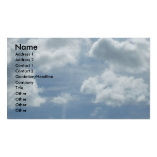 Inspirational Profile Card Business Cards