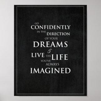 "Inspirational Quote 8""x10"" Art Print"