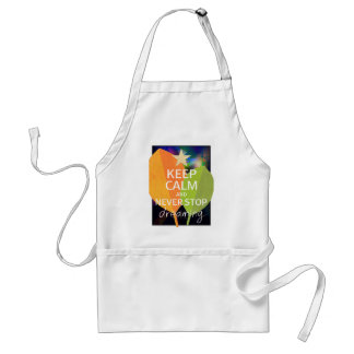 INSPIRATIONAL QUOTE ADULT APRON