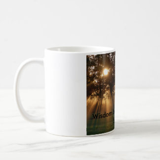 inspirational quote and photo classic white coffee mug