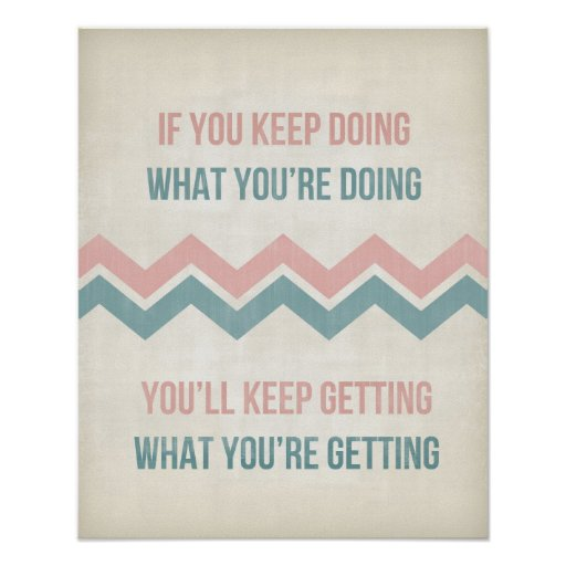 Inspirational quote art typography poster print