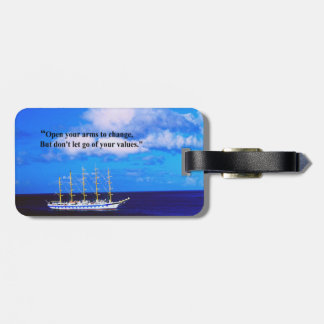 Inspirational Quote Bag Tag