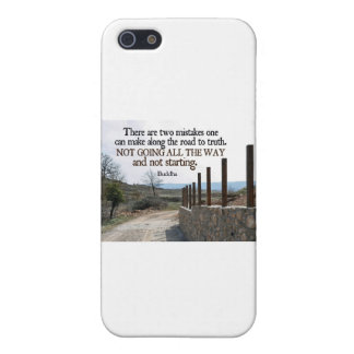 Inspirational Quote -- Buddha Case For iPhone SE/5/5s