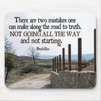 Inspirational Quote -- Buddha Mousepad