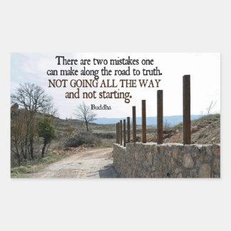 Inspirational Quote -- Buddha Sticker