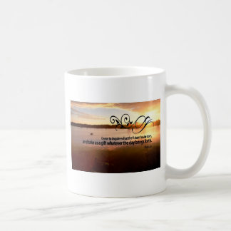Inspirational Quote by Ancient Rome Poet -- Horace Coffee Mug