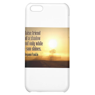 Inspirational Quote by Benjamin Franklin iPhone 5C Cover