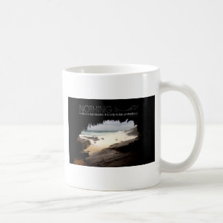 Inspirational Quote by Marie Curie Coffee Mugs