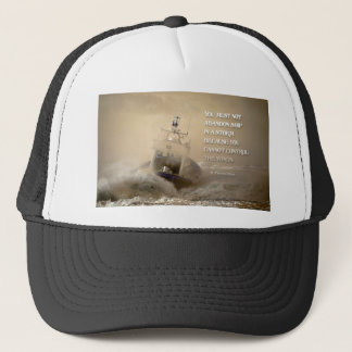 Inspirational Quote by St. Thomas More Trucker Hat