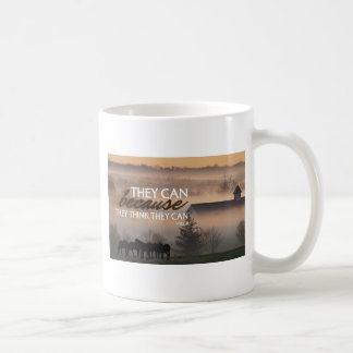 Inspirational Quote by Virgil Coffee Mug