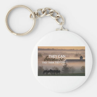 Inspirational Quote by Virgil Keychain