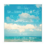 Inspirational Quote Canvas Gallery Wrap Canvas