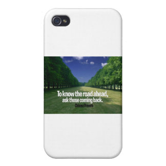 Inspirational Quote -- Chinese Proverb iPhone 4/4S Case