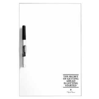 Inspirational quote Dry-Erase board