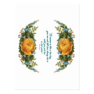 Inspirational Quote for Women by Nancy Reagan Postcard