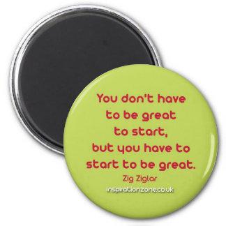 Inspirational Quote Fridge Magnet