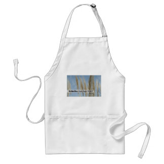 Inspirational Quote from Benjamin Franklin Adult Apron