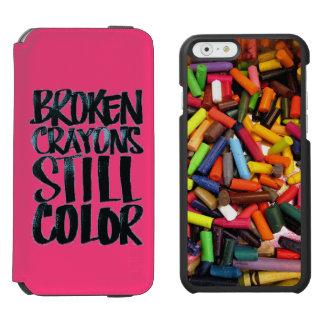 Inspirational Quote iPhone 6 Case Incipio Watson™ iPhone 6 Wallet Case