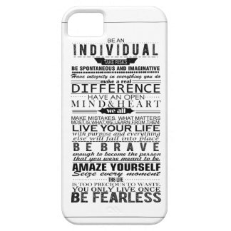 Inspirational Quote iPhone SE/5/5s Case