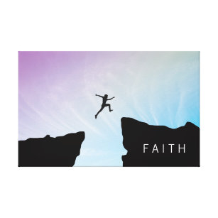 Leap Of Faith Art Wall Décor Zazzle