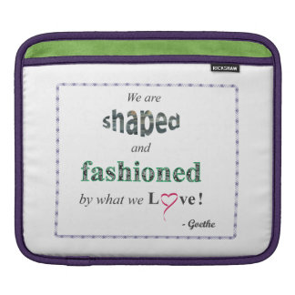 Inspirational Quote MacBook Sleeve
