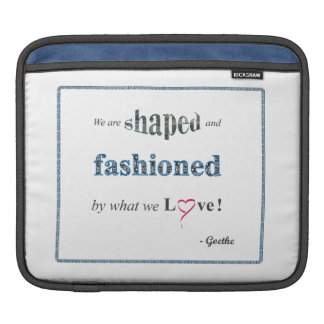 Inspirational Quote MacBook Sleeve