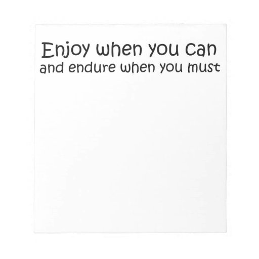 inspirational quote notepad unique gift idea gifts zazzle