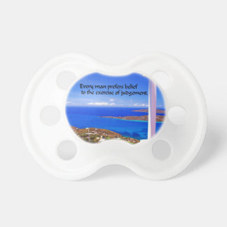Inspirational Quote Pacifier