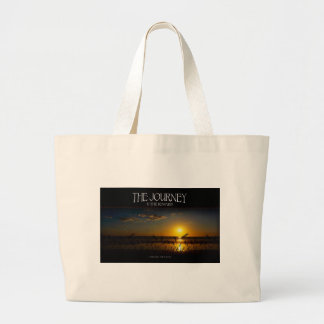 Inspirational Quote -- The Journey of Life Tote Bags