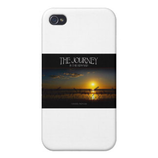 Inspirational Quote -- The Journey of Life iPhone 4 Cover