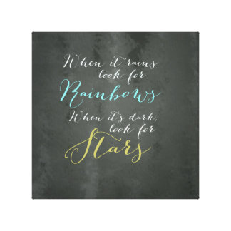 Inspirational Quote Wall Canvas Canvas Print