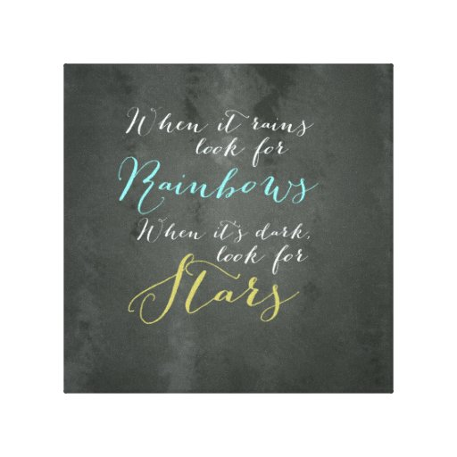 inspirational quote wall canvas zazzle