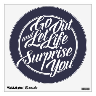 inspirational quotes wall decals wall stickers zazzle
