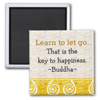 Inspirational Quotes Buddha|Happiness 2 Inch Square Magnet