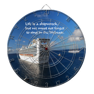 Inspirational Quotes Dart Board