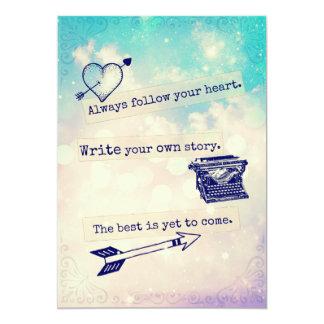 Inspirational Quotes Junk Journal Cardstock Card