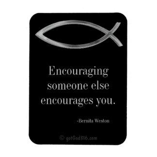 Inspirational Quotes Keys for Discipline Rectangular Photo Magnet