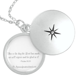Inspirational Quotes Locket Necklace