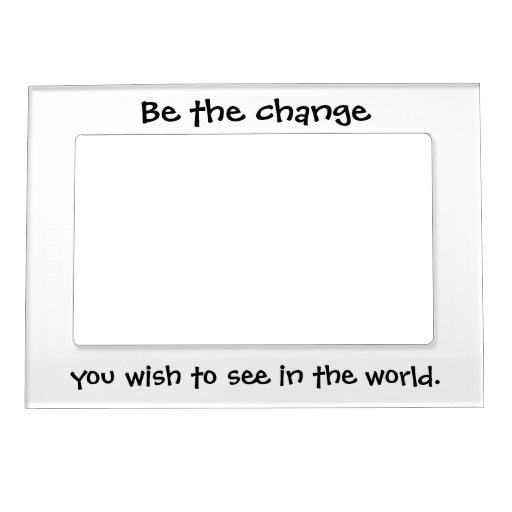Inspirational quotes magnetic picture frames gifts