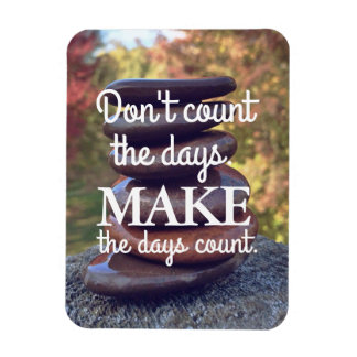 Inspirational Quotes Motivational Zen Stones Magnet