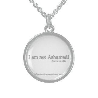 Inspirational Quotes Sterling Silver Necklace