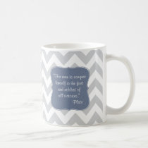 Inspirational quotes Plato Coffee Mug