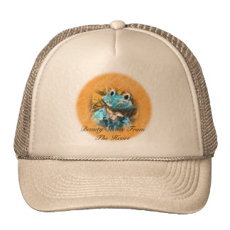 Inspirational Quotes You Are Beautiful Frog Prince Mesh Hats