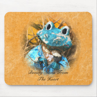 Inspirational Quotes You Are Beautiful Frog Prince Mouse Pad