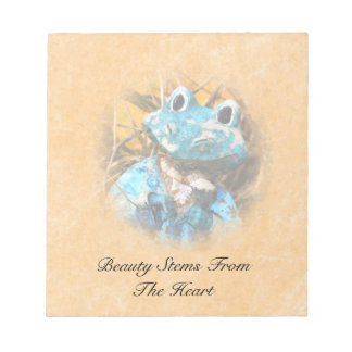 Inspirational Quotes You Are Beautiful Frog Prince Notepad