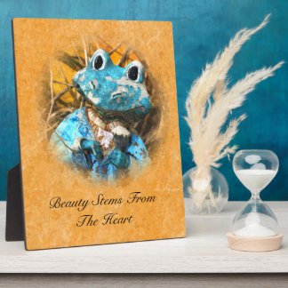 Inspirational Quotes You Are Beautiful Frog Prince Plaque