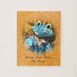 Inspirational Quotes You Are Beautiful Frog Prince Jigsaw Puzzles