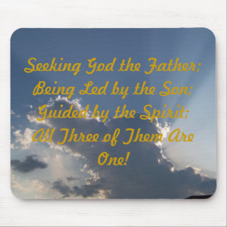 Inspirational Rays Mouse Pad